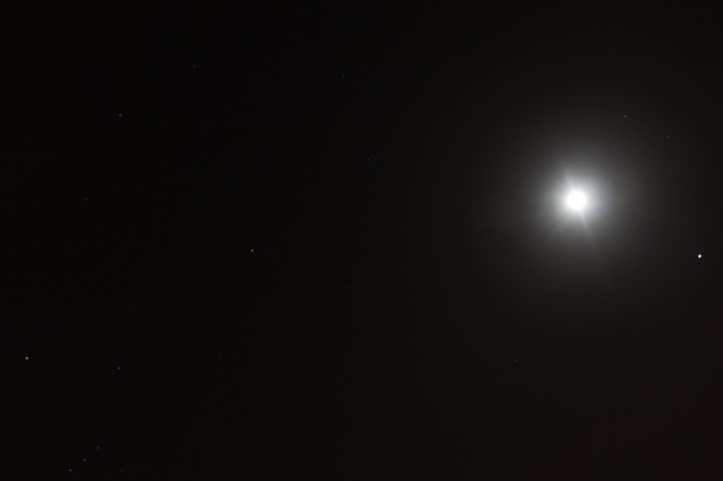 Jupiter and our Moon